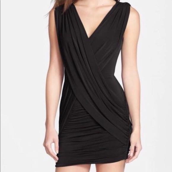 848a65bd7 BCBGMaxAzria Dresses | Bcbg Tight Black Mini Dress | Poshmark